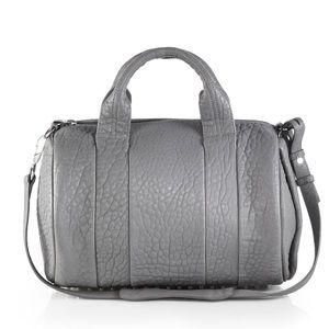 Alexander Wang Large Rocco Duffle Bag Sesame Grey